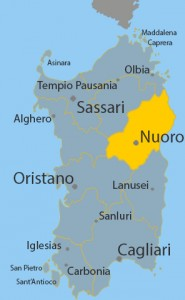 territorio della diocesi di Nuoro